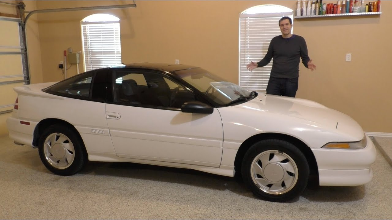 Here's a Tour of a Perfect 1990 Mitsubishi Eclipse GSX
