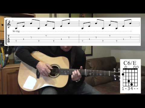 How to play All Is Now Harmed by Ben Howard with TAB, acoustic version