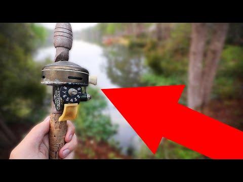 ANTIQUE Reel Catches MASSIVE Fish Challenge!