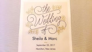 DJ VLOG #119: Sheila & Marc's Wedding at Evergreen Club House (Trenton, NJ)