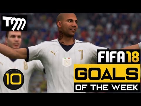 Fifa 18 - TOP 10 GOALS OF THE WEEK #10