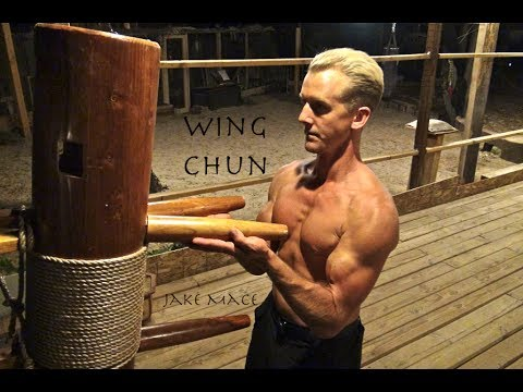 Wing Chun WOODEN DUMMY Real Fighting - Bruce Lee, Yip Man Be