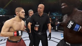 Khabib vs. Grizzly Bear (EA Sports UFC 3) - CPU vs. CPU