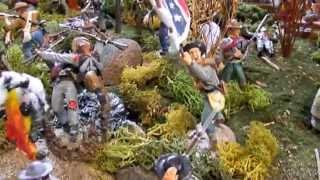 American Civil War Diorama - Battle of Shiloh - Youtube Video