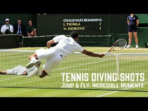 Tennis. Diving Shots #Top Ever #Incredible Moments