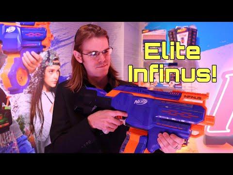 First Review: Nerf Elite INFINUS (AUTO-LOADING ELITE PRIMARY)