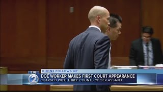 Salt Lake Elementary worker appears in court for sex assault charges involving minor