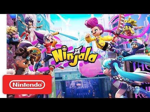 Ninjala - Launch Trailer - Nintendo Switch
