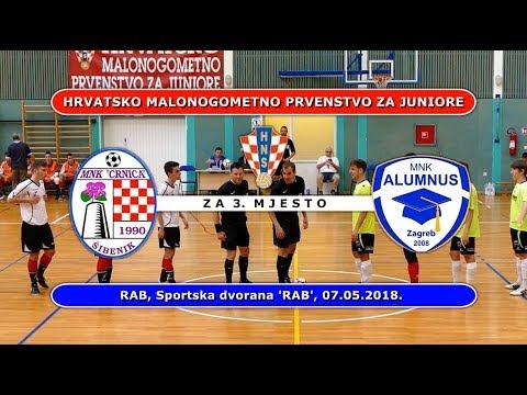 ZAVRŠNICA HMNL JUNIORI: CRNICA - ALUMNUS, RAB 07.05.2018.