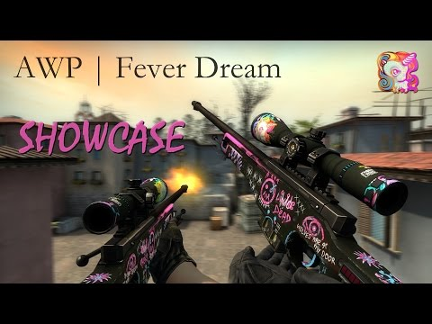 AWP | Fever Dream - SPECTRUM CASE (CS:GO Showcase/Gameplay)