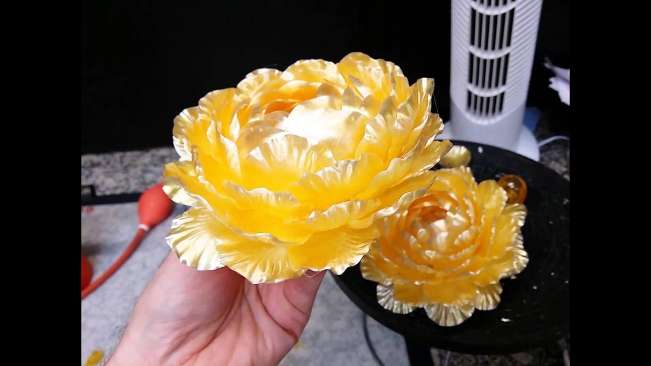 janiaud traiteur fleurs en sucre tire - youtube