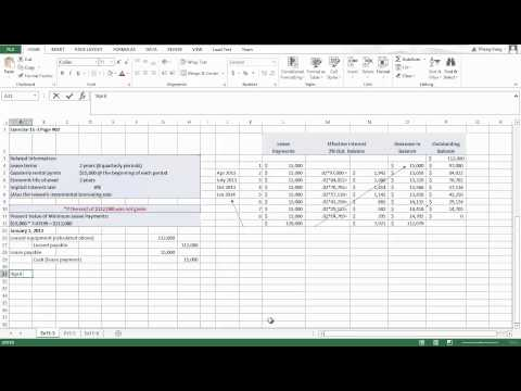 Ch 15 - Capital Leases Video 1