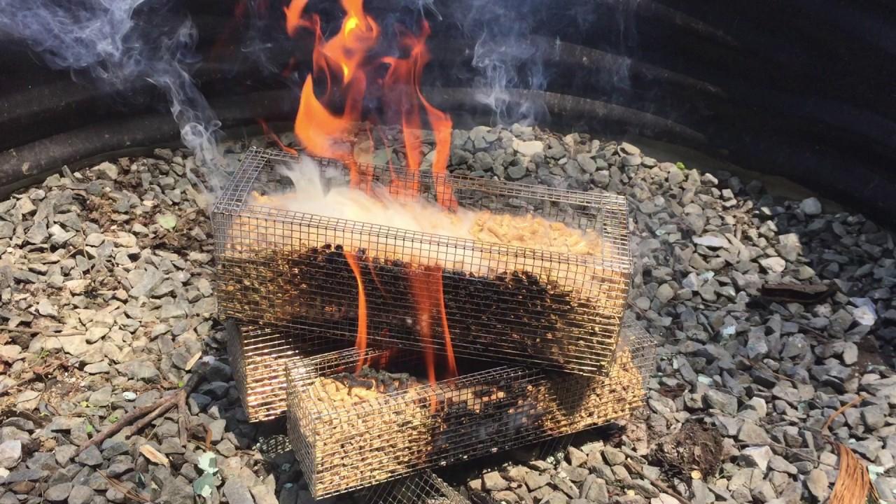 We Tried Repose Fire Logs Wood Pellet Burning Reusable