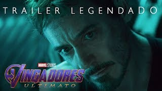Vingadores: Ultimato – Trailer legendado - 25 de Abril nos Cinemas.