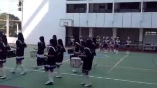 蘇浙公學北角校舎開放日,女子鼓隊表演