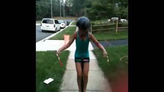 Pogo stick girl