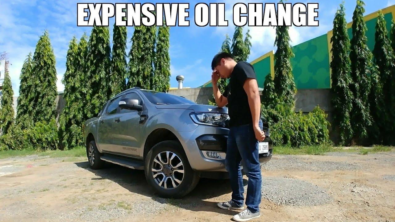 How Much Is An Oil Change >> How Much Is An Oil Change Ford Ranger Youtube