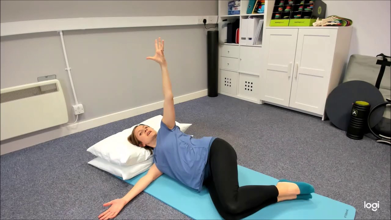Exercise During Pregnancy - Arm Openings