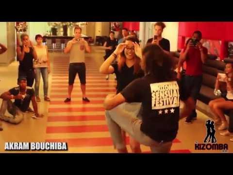 Akram Bouchiba Semba Dancing at I love Kizomba Sensual Festival 2016