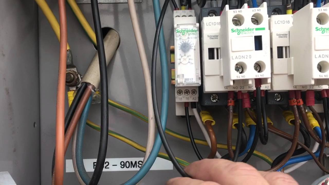 Timer Wiring Diagram Sunvic Mid Position Valve Anti-cycle Schneider Re17 Rmmu - Youtube