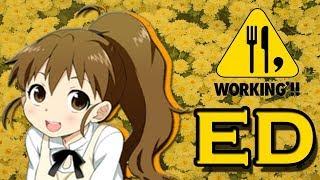 Hola, ahora les dejo el primer Ending del anime Working! (season 1)...