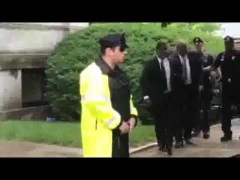 Bill Cosby leaving courthouse after mistrial.flv