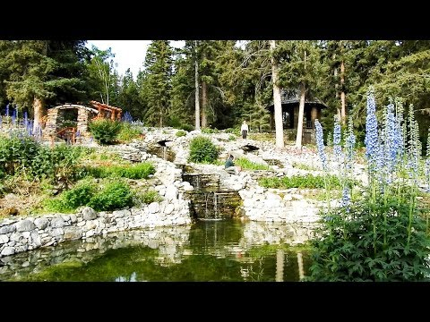 Cascades of Time Garden in Banff Alberta Canada