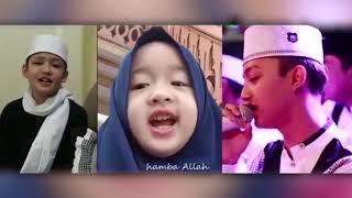 Mungkin adek Aishwa Nahla mukanya mirip Nisa sabiyan waktu masih kecil.