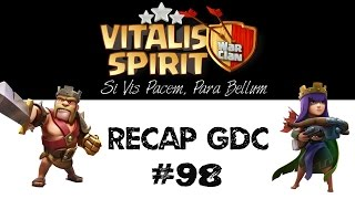 "Vitalis Spirit ""On Tour"" - Récap GDC - AQW Golaloon, Shattered & Stoned GoHog - Clash of Clans"