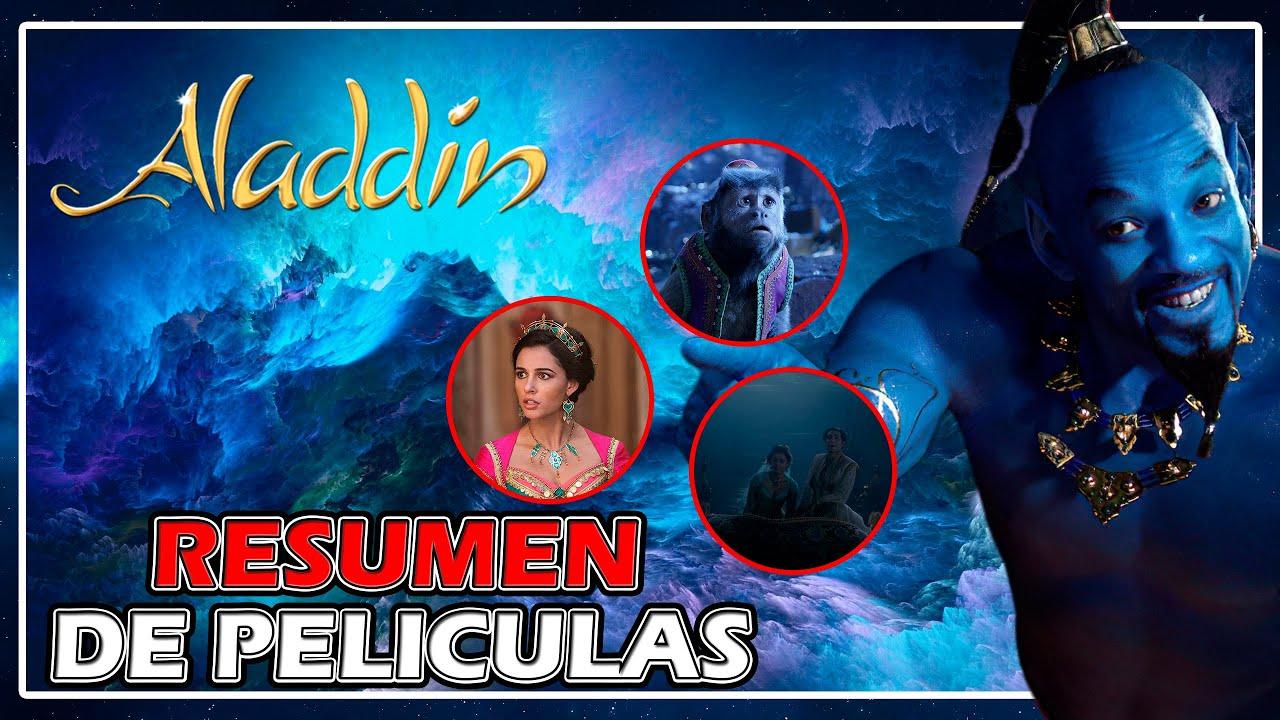 RESUMEN DE PELÍCULAS - Resumen Aladdín (2019) Aladdin en 8 minutos