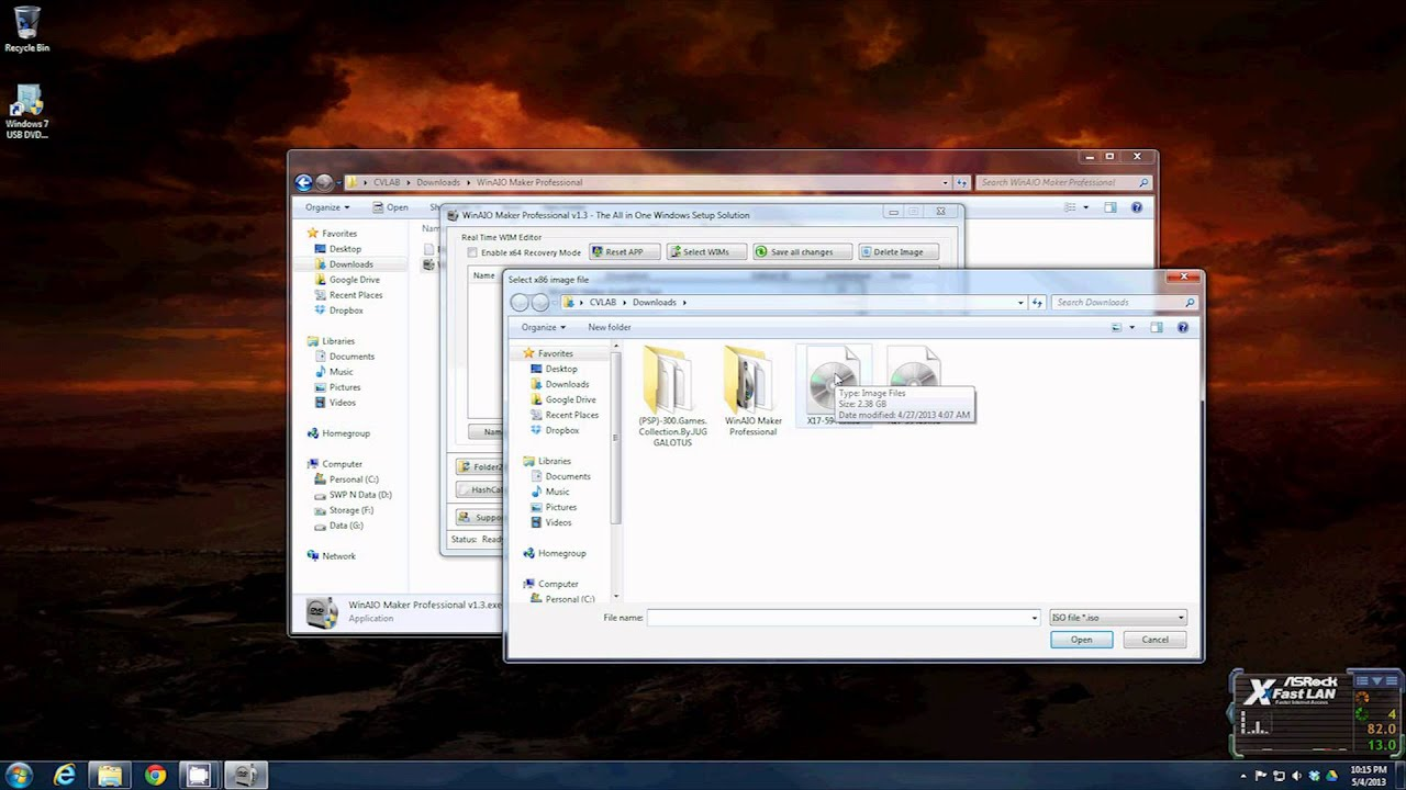 How To Make Your Own Windows All In 1 Install DVD And USB from Vista to 8