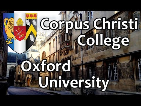 127. Корпус Кристи Колледж, Оксфордский Университет. Corpus Christi College, Oxford University.
