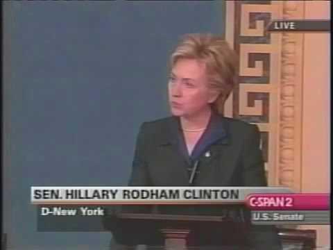 Hillary Clinton Iraq War Vote Speech