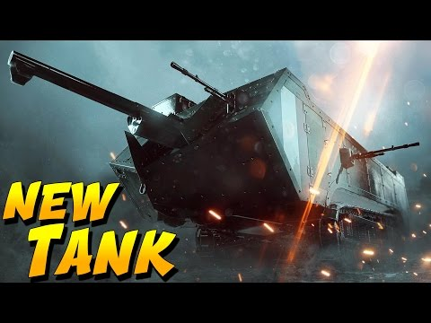 NEW FRENCH TANK DESTROYER St. Chamond (Battlefield 1 They Shall Not Pass DLC Gameplay - BF1)