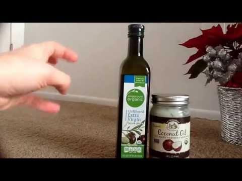 فوائد زيت الزيتون وزيت جوز الهند للشعر الجزء الثاني Youtube