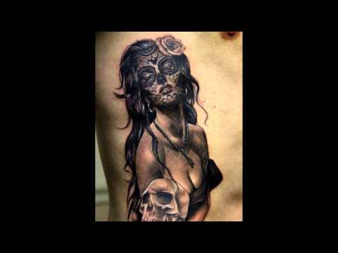 30 Daring s of Day of the Dead Tattoos