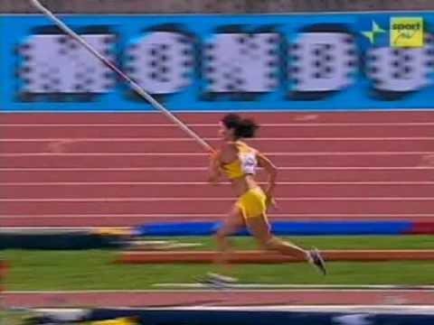 Anna Giordano Bruno Record Italiano di salto con l'asta femminile 4.60