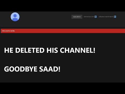 😥SAAD GAMING ELIMINATED HIS CHANNEL😱 **THIS IS THE REASON**