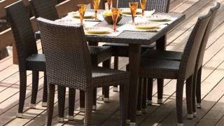 Wicker Furniture Wicker Patio Table And Chairs