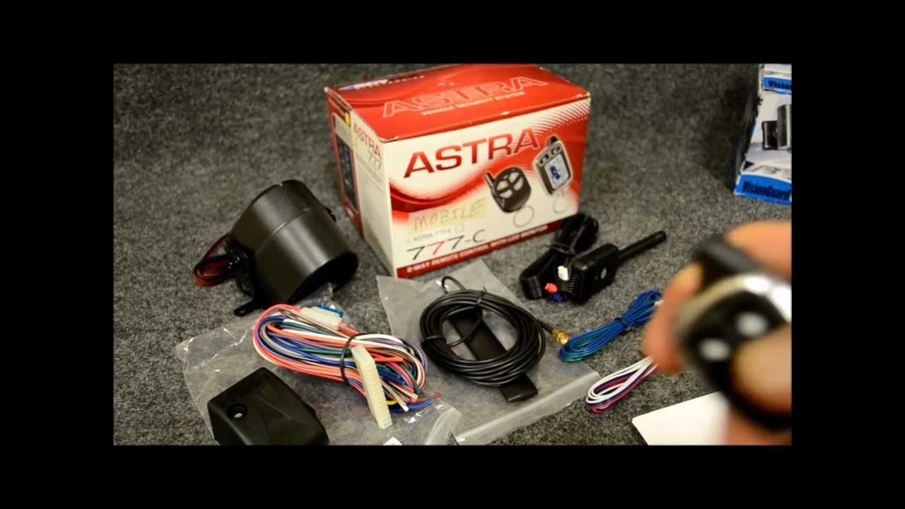 Scytek Astra 777c Alarm Amp Remote Start With Car Link Phone