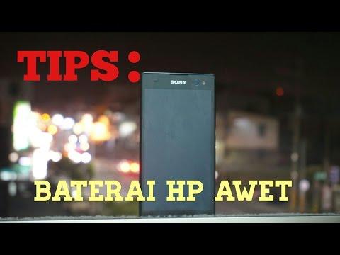 Tips merawat baterai tanam pada HP agar tidak cepat DROPP.