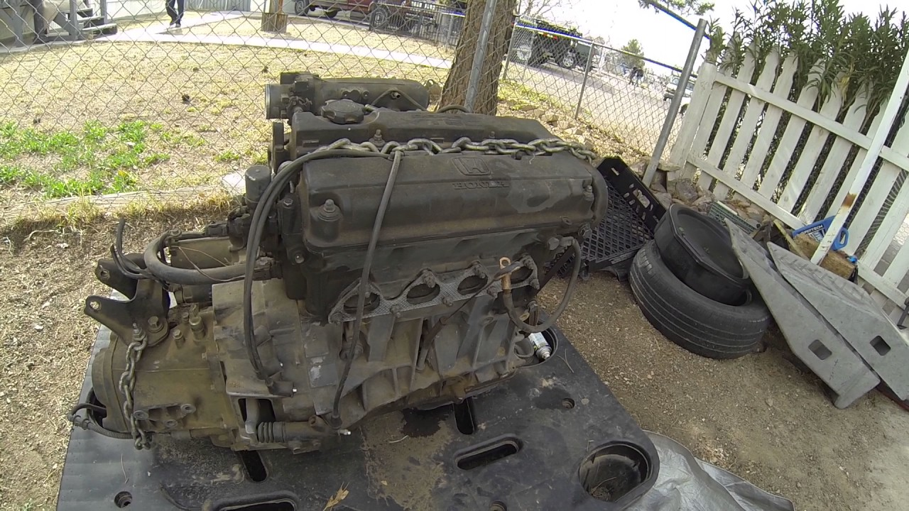 Separating a JDM B16A from a GSR transmission