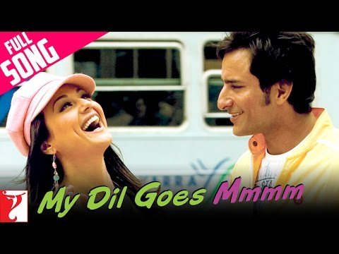 My Dil Goes Mmmm  Full Song  Salaam Namaste  Saif Ali Khan  Preity Zinta