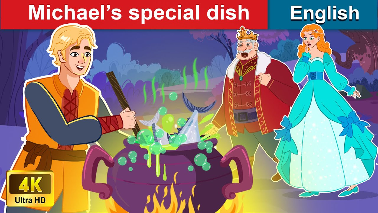 Michael's Special Dish 🤴 Bedtime stories 🌛 Fairy Tales For Teenagers | WOA Fairy Tales