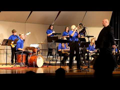 Underwood Middle School Jazz 2018 - Bluffs Jazz competition