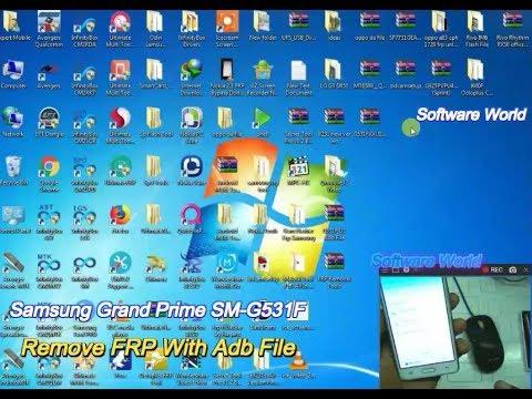 Samsung Grand Prime G531F Remove Frp With Adb File