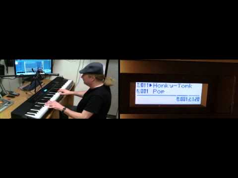 Casio Privia PX-350 SoundBank 1 Demo - Grand Pianos