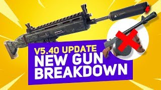 Nouveau rapport Fortnite Patch: Suppressed AR Stats - RIP Drum Gun Meta