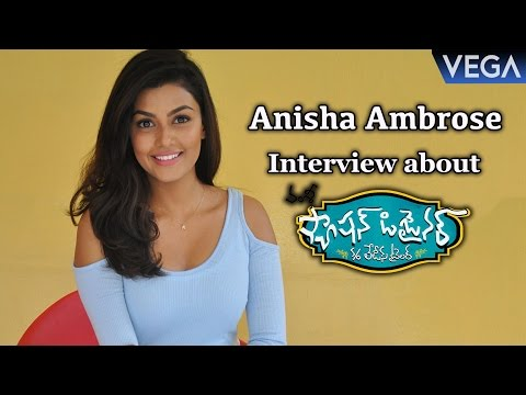 Anisha Ambrose Interview about Fashion Designer S/o Ladies Tailor Movie