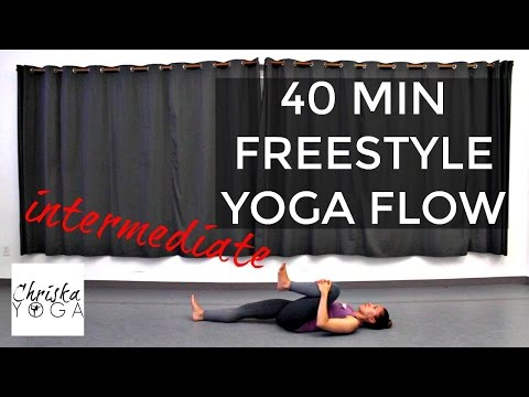 40 Minute Yoga Flow Without A Yoga Mat